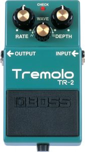 Boss Tremolo Pedals