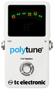 TC Electronic Polytune 2 with True Bypass - Cheap Guitar Pedal