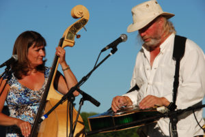 Dobro guitar player - bluegrass band