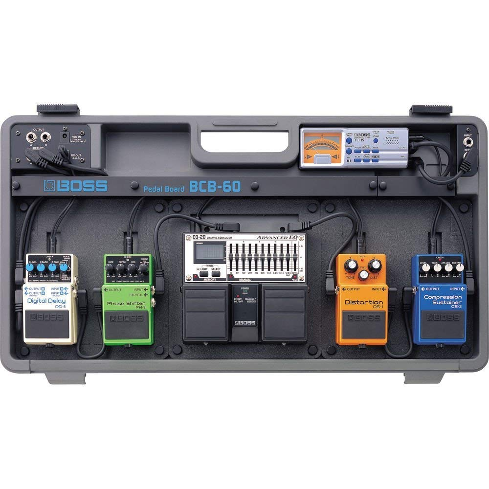 Best Pedalboard for Bass Players