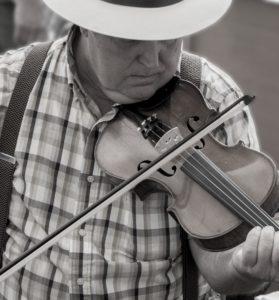 Bluegrass Fiddle Player