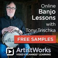 Online banjo lessons tony trischka